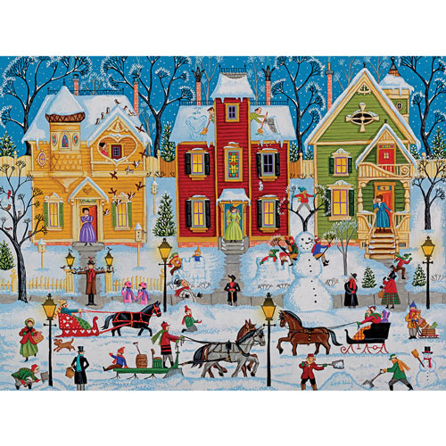 After The Snow Has Fallen 500 Piece Jigsaw Puzzle