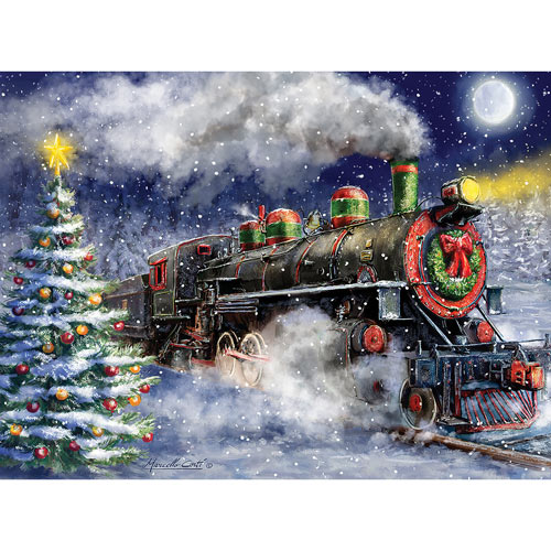 Express Train To Christmas 1000 Piece Jigsaw Puzzle