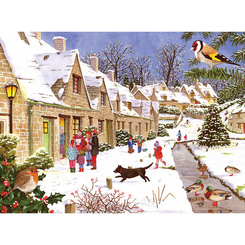 Winter Village 500 Piece Jigsaw Puzzle