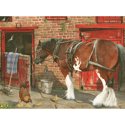 Gentle Giant 500 Piece Jigsaw Puzzle
