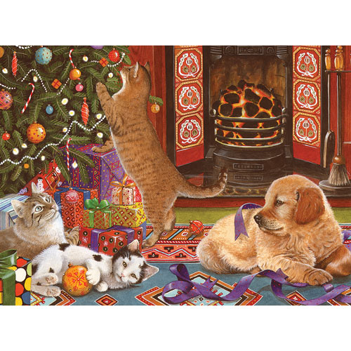 Christmas Helpers 500 Piece Jigsaw Puzzle