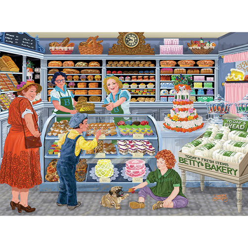 Grandma's Treats At The Bakery 1000 Piece Jigsaw Puzzle