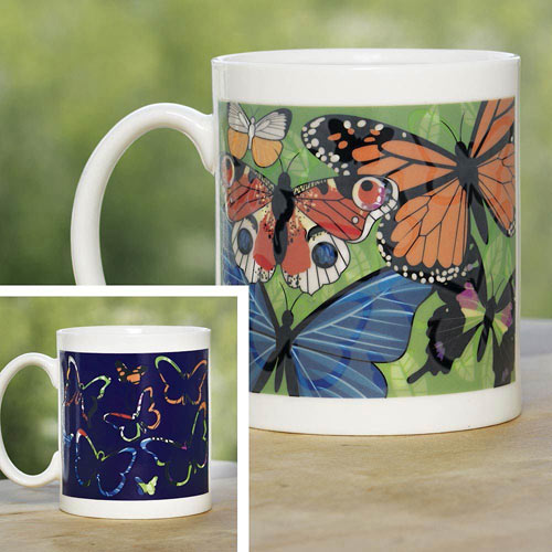 Butterfly Color Changing Mug