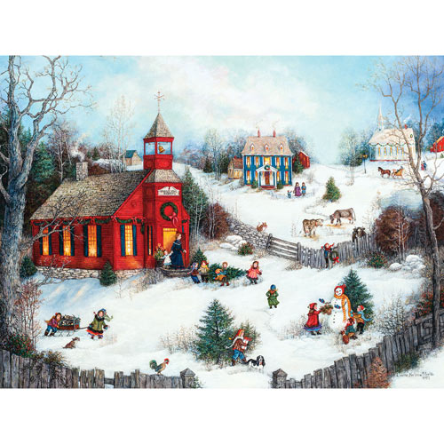 Holly Hill School 500 Piece Jigsaw Puzzle