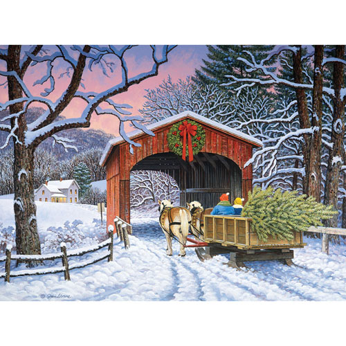 Over the River 500 Piece Jigsaw Puzzle