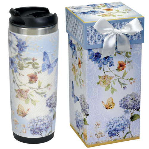 Insulated Butterfly Travel Mug