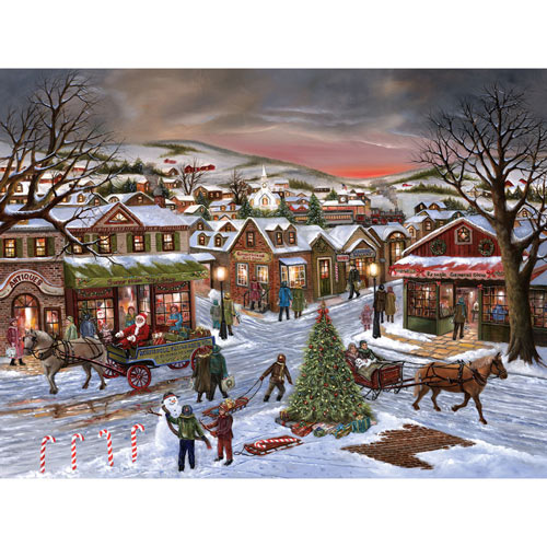 Jingle All the Way 500 Piece Jigsaw Puzzle