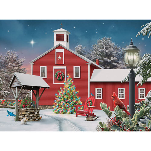 Heavenly Light 300 Large Piece Glow-In-the-Dark Jigsaw Puzzle