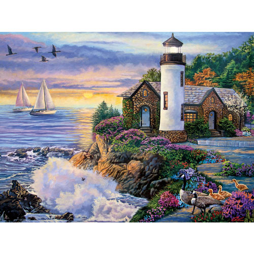 Perfect Dawn 500 Piece Jigsaw Puzzle