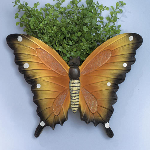 Monarch Butterfly Wall Planter