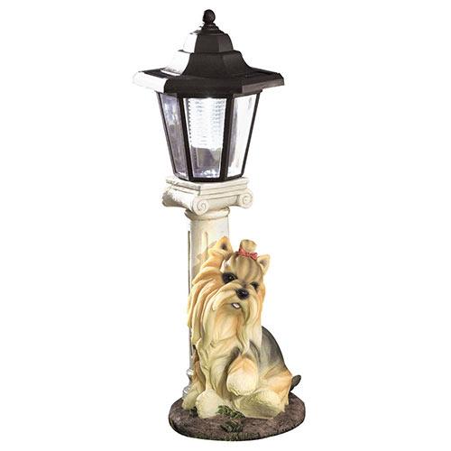 Solar Yorkie Lantern