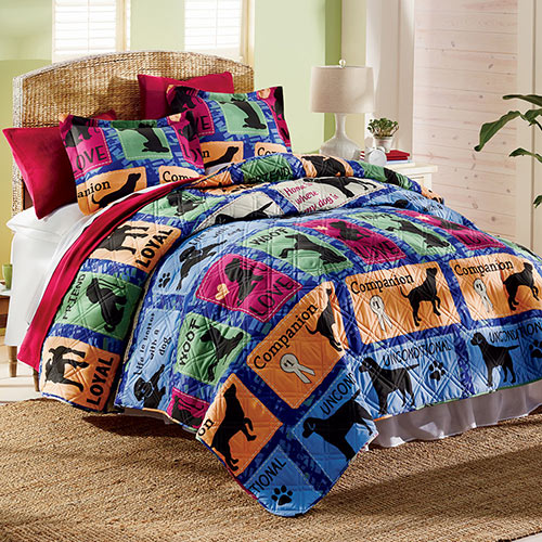 Life Is Better Quilt Set