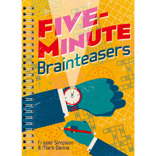 Five Minute Brainteasers Puzzle Book