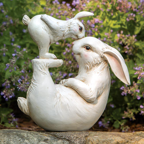 Love Some Bunny Garden Sculpture