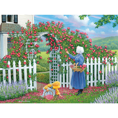 The Rose Arbor 1000 Piece Jigsaw Puzzle