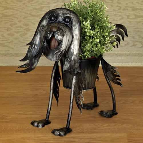 Yorkie Fun Dog Planters