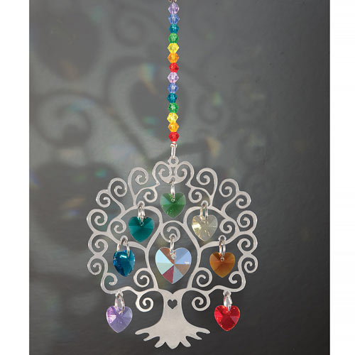 Tree Of Life With Hanging Crystals