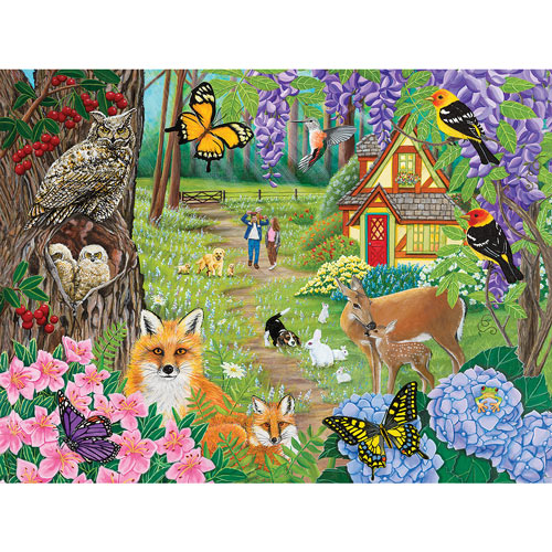 Spring Joy 500 Piece Jigsaw Puzzle