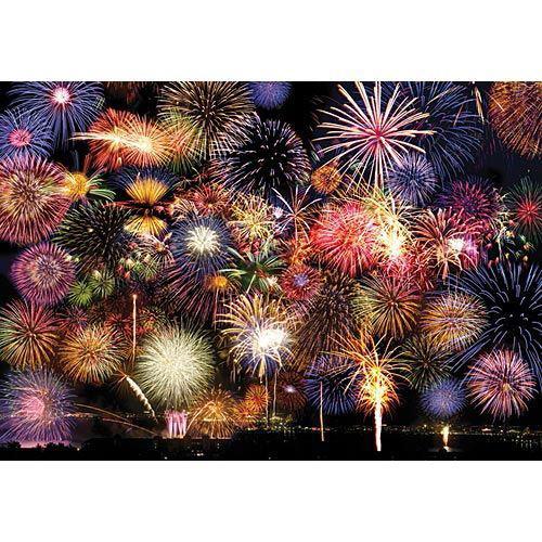 Fireworks Symphony 500 Piece Jigsaw Puzzle