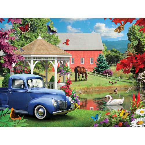 A Simple Time 500 Piece Jigsaw Puzzle
