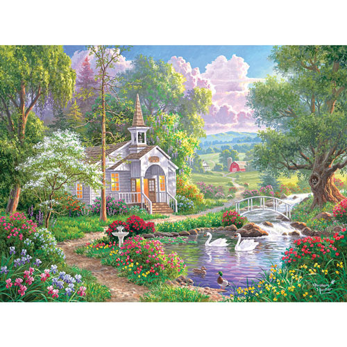 Joyful Chapel 300 Large Piece Jigsaw Puzzle