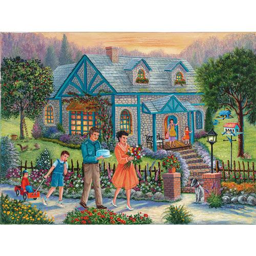 Neighbors Over For Dinner 1000 Piece Jigsaw Puzzle
