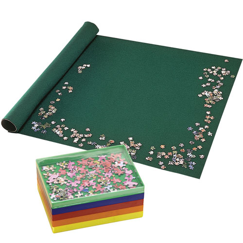 Set of Puzzle Roll & Stacking Trays