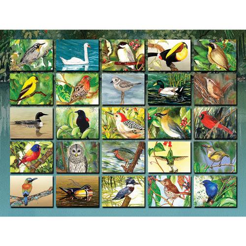 Bountiful Birds 1000 Piece Jigsaw Puzzle