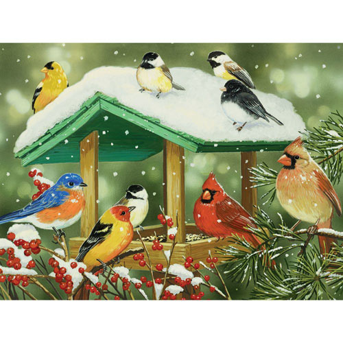 Winter Treats 500 Piece Jigsaw Puzzle
