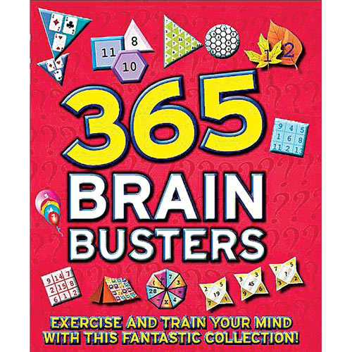 365 Brain Busters Book