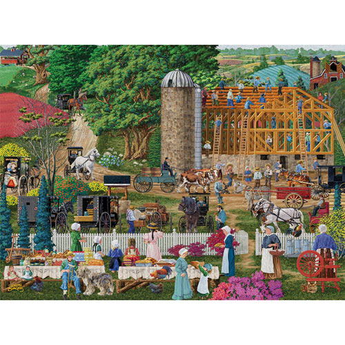 Friendly Neighbors 1000 Piece Jigsaw Puzzle