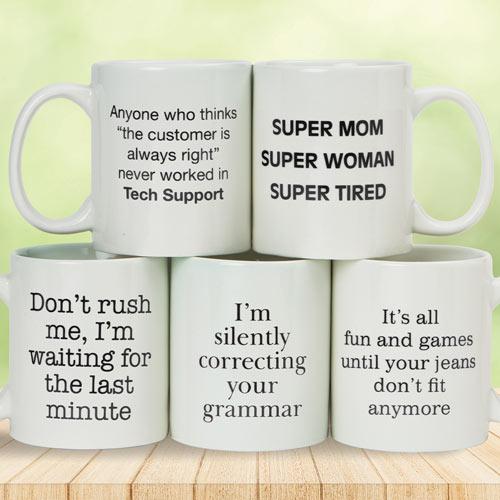 Last Minute Funny Jumbo Mug