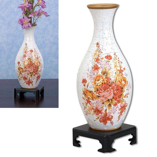 Plastic Vase 3-D Puzzle