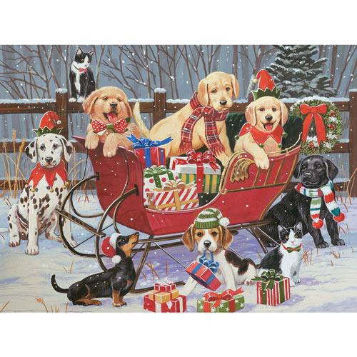 Santa's Helpers 500 Piece Jigsaw Puzzle