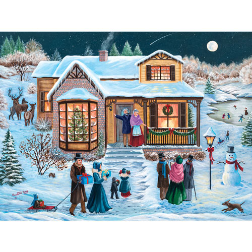 Christmas At Grandma's 300 Large Piece Jigsaw Puzzle