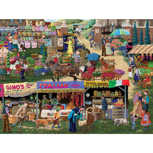 Italian Market 300 Large Piece Jigsaw Puzzle