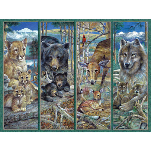 Pride Of The Forest 500 Piece Jigsaw Puzzle
