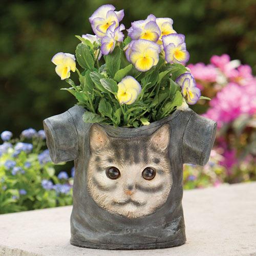 Tee-Shirt Planter