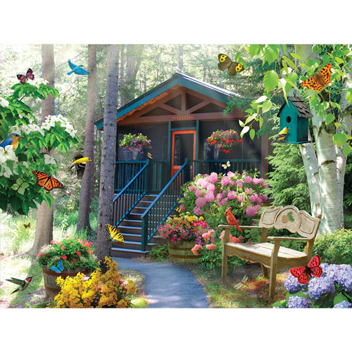 Flight In Light 300 Large Piece Jigsaw Puzzle