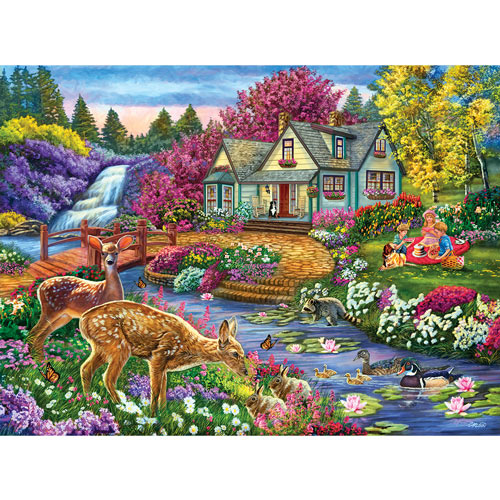 Forest Feast 300 Large Piece Jigsaw Puzzle