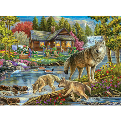 Bath Time 300 Large Piece Jigsaw Puzzle