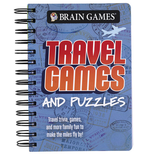 Travel Games And Puzzles Book
