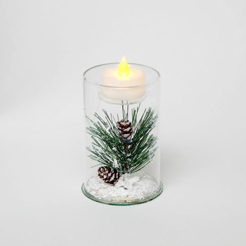 Pine Tea Light - Small 4