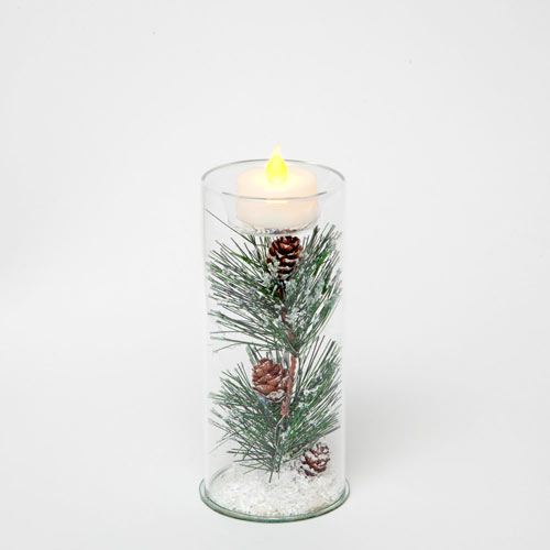 Pine Tea Light - Medium 6
