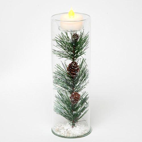Pine Tea Light - Large 8
