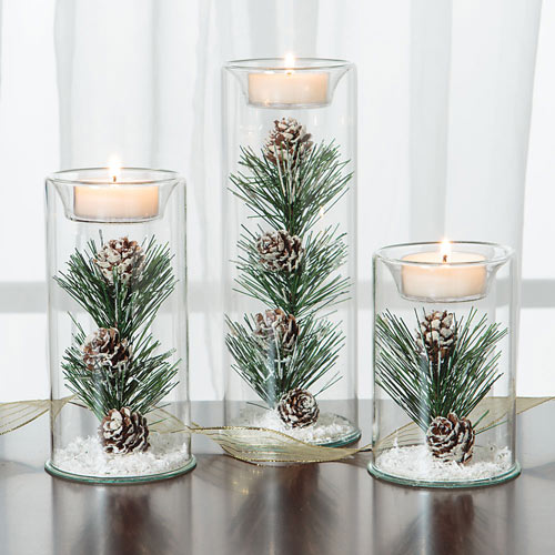 Set of 3: Winter Tealights