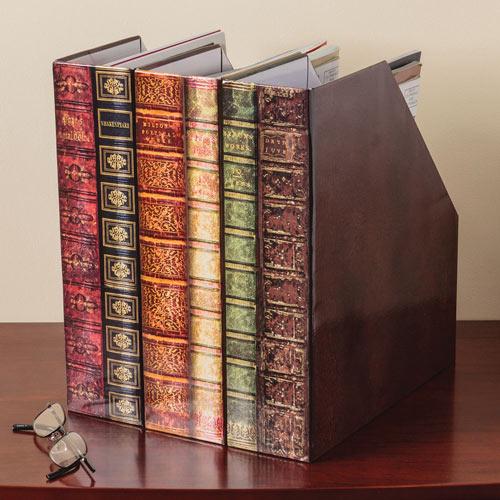 Set of 3: Rare Books Periodical Keeper