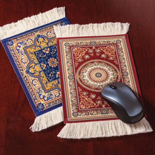 Oriental Rug Mousepad - Blue