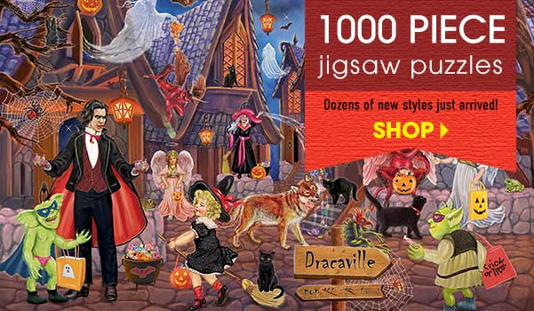 Jigsaw puzzle Child/'s Play The Gift 1000 piece NEW made in USA