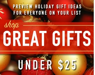 Great Gifts Under $25